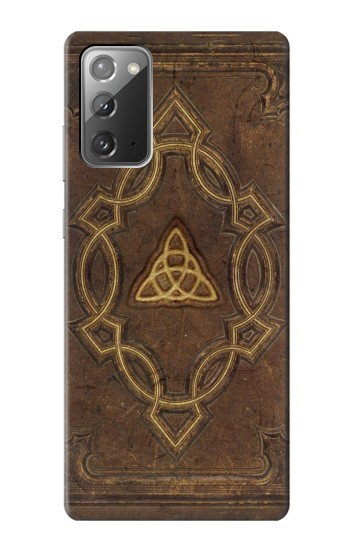 Printed Spell Book Cover Samsung Galaxy Note 20 Case