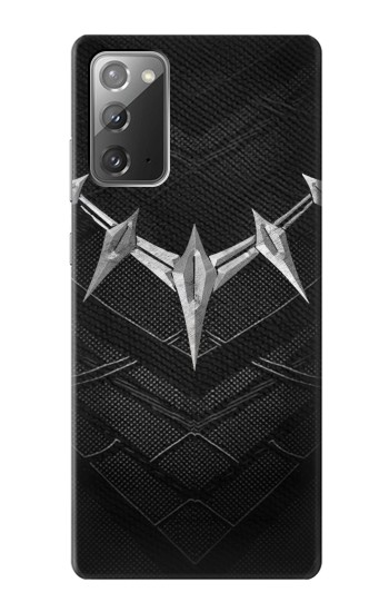 Printed Black Panther Inspired Costume Necklace Samsung Galaxy Note 20 Case
