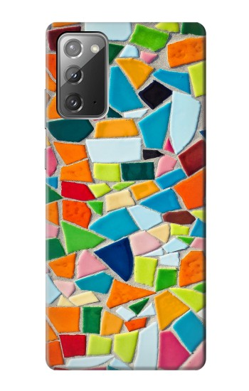 Printed Abstract Art Mosaic Tiles Graphic Samsung Galaxy Note 20 Case