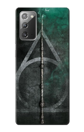 Printed Harry Potter Magic Wand Samsung Galaxy Note 20 Case