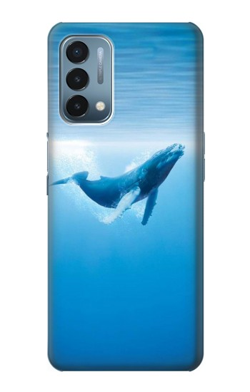 Printed Blue Whale OnePlus Nord N200 5G Case