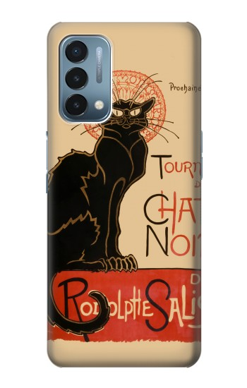 Printed Chat Noir The Black Cat OnePlus Nord N200 5G Case