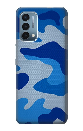Printed Army Blue Camouflage OnePlus Nord N200 5G Case