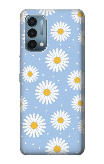 Printed Daisy Flowers Pattern OnePlus Nord N200 5G Case