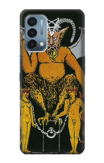 Printed Tarot Card The Devil OnePlus Nord N200 5G Case