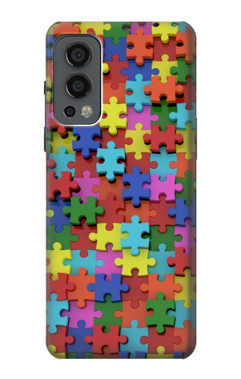 Printed Puzzle OnePlus Nord 2 5G Case