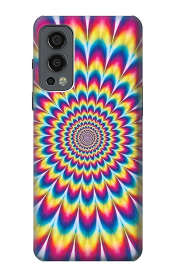 Printed Colorful Psychedelic OnePlus Nord 2 5G Case
