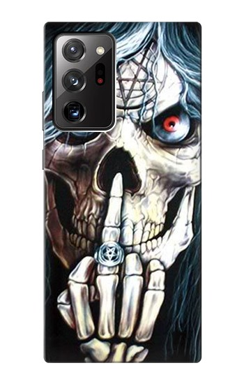 Printed Skull Pentagram Samsung Galaxy Note 20 Ultra Case