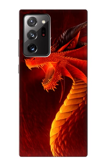 Printed Red Dragon Samsung Galaxy Note 20 Ultra Case