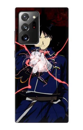 Printed Fullmetal Alchemist Roy Mustang Samsung Galaxy Note 20 Ultra Case
