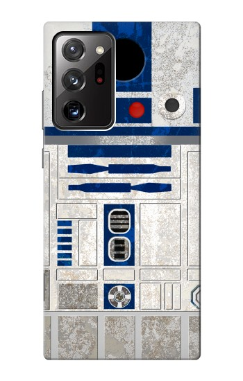 Printed Vintage R2D2 Minimalist Samsung Galaxy Note 20 Ultra Case