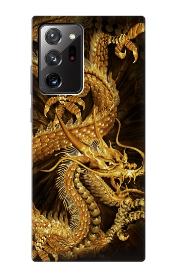 Printed Chinese Gold Dragon Printed Samsung Galaxy Note 20 Ultra Case
