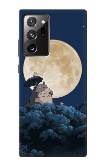 Printed Totoro Ocarina Moon Night Samsung Galaxy Note 20 Ultra Case