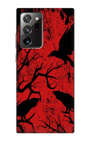 Printed Crow Black Tree Samsung Galaxy Note 20 Ultra Case