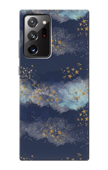 Printed Gold Star Sky Samsung Galaxy Note 20 Ultra Case