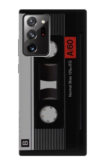 Printed Vintage Cassette Tape Samsung Galaxy Note 20 Ultra Case