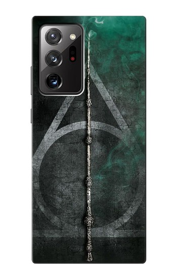 Printed Harry Potter Magic Wand Samsung Galaxy Note 20 Ultra Case