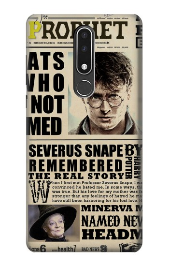 Printed Harry Potter Daily Prophet Nokia 3.1 plus Case