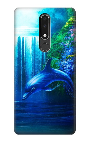 Printed Dolphin Nokia 3.1 plus Case