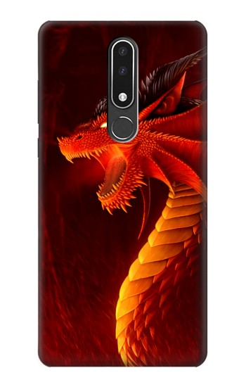 Printed Red Dragon Nokia 3.1 plus Case