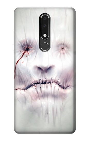 Printed Horror Face Nokia 3.1 plus Case