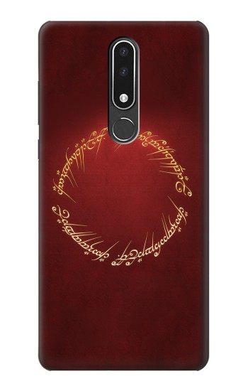 Printed Lord of the Ring Nokia 3.1 plus Case