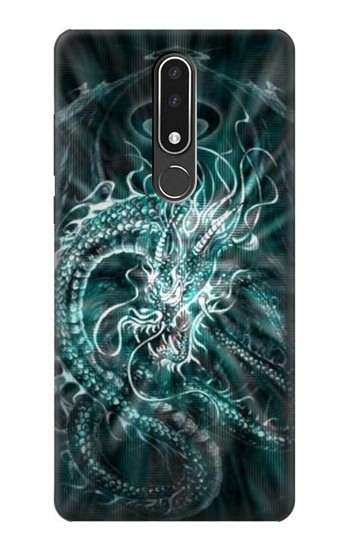 Printed Digital Chinese Dragon Nokia 3.1 plus Case