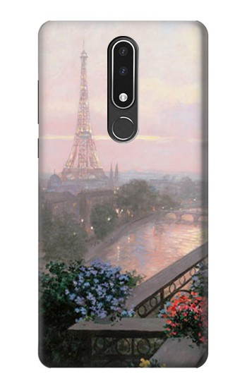 Printed Terrace in Paris Eifel Nokia 3.1 plus Case