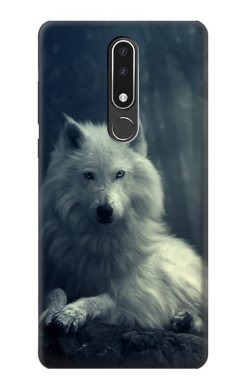 Printed White Wolf Nokia 3.1 plus Case