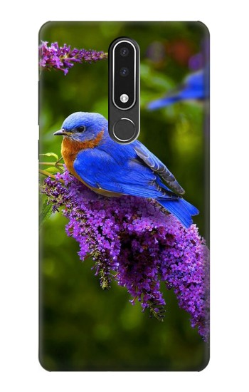 Printed Bluebird of Happiness Blue Bird Nokia 3.1 plus Case