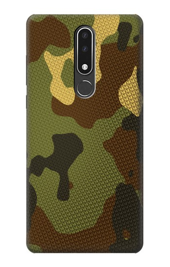 Printed Camo Camouflage Graphic Printed Nokia 3.1 plus Case