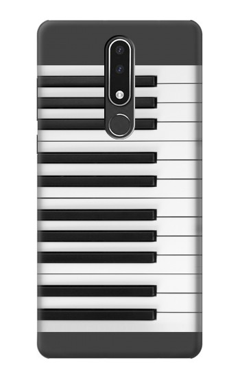 Printed One Octave Piano Nokia 3.1 plus Case
