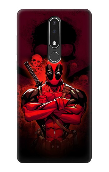 Printed Deadpool Skull Nokia 3.1 plus Case