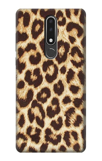 Printed Leopard Pattern Graphic Printed Nokia 3.1 plus Case