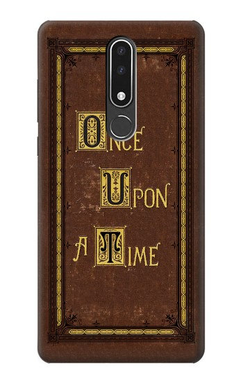 Printed Once Upon a Time Book Cover Nokia 3.1 plus Case