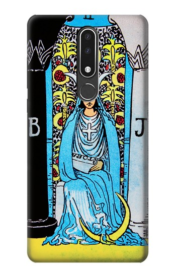Printed The High Priestess Vintage Tarot Card Nokia 3.1 plus Case