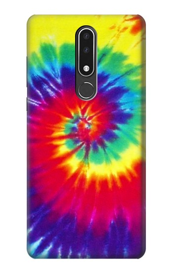 Printed Tie Dye Fabric Color Nokia 3.1 plus Case