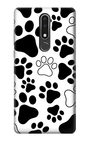 Printed Dog Paw Prints Nokia 3.1 plus Case