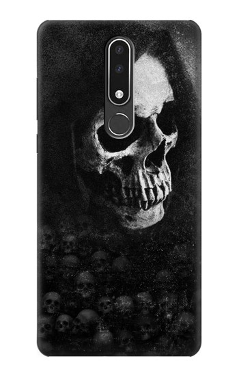 Printed Death Skull Nokia 3.1 plus Case