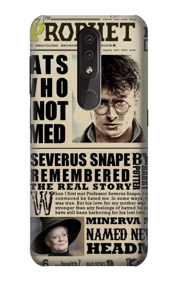 Printed Harry Potter Daily Prophet Nokia 4.2 Case
