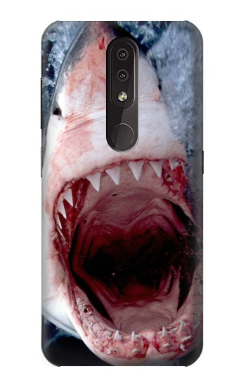 Printed Jaws Shark Mouth Nokia 4.2 Case