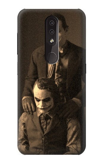 Printed Jokers Together Nokia 4.2 Case
