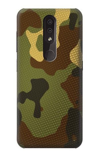Printed Camo Camouflage Graphic Printed Nokia 4.2 Case