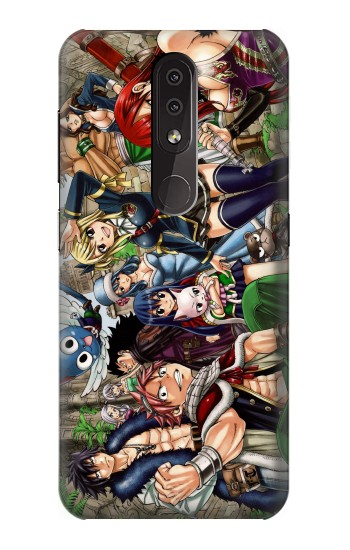 Printed Fairy Tail Guild Members Nokia 4.2 Case