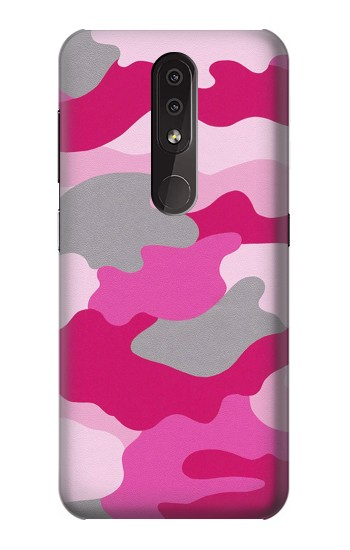 Printed Pink Camouflage Nokia 4.2 Case
