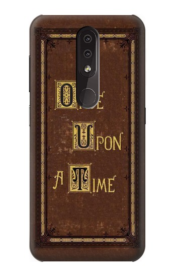Printed Once Upon a Time Book Cover Nokia 4.2 Case