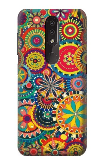 Printed Colorful Pattern Nokia 4.2 Case