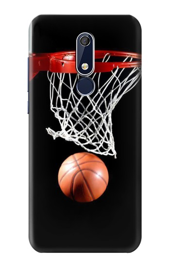 Printed Basketball Nokia 5.1 Case