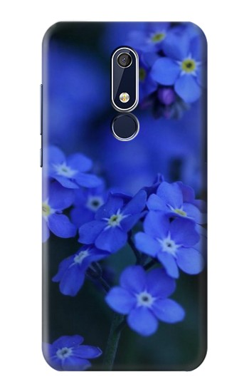 Printed Forget me not Nokia 5.1 Case