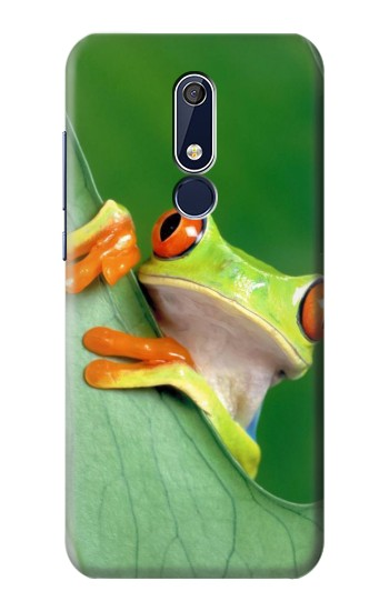Printed Little Frog Nokia 5.1 Case